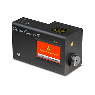 СhemExpert-T: Handheld Raman Spectrometer for Identification of Chemical and Biological Threat Agents, Explosives and Drugs
